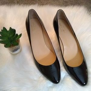 Cole Haan Shoes - Cole Haan Wedge sz 7.5 B Patent Leather